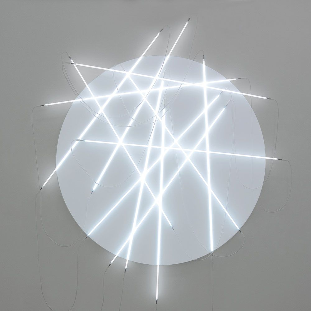 François Morellet - Lunatic weeping and neonly n° 3 - 2010