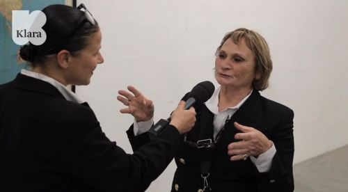 Pompidou interview met Maria Gilissen Broodthaers door Chantal Pattyn