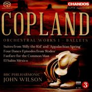 Copland - Orchestral works 1 - John Wilson - BBC Philharmonic