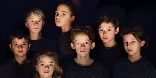 de kinderen uit 'Five Easy Pieces'