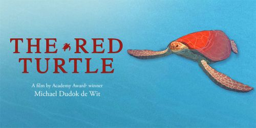 The Red Turtle reclameposter