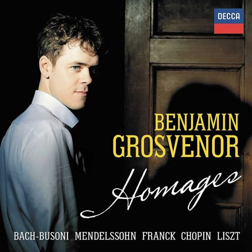 Hoes van de cd Homages van Benjamin Grosvenor