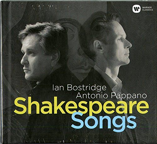 Hoes van de cd Shakespeare Songs van Ian Bostridge