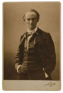 Charles Baudelaire door Nadar, foto via Wikimedia Commons