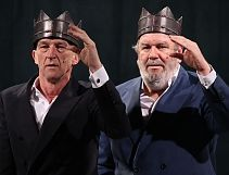 Wilfried de Jong en Wim Opbrouck in We Free Kings, Foto: Elisabeth Soetaert