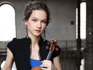 foto van Hilary Hahn