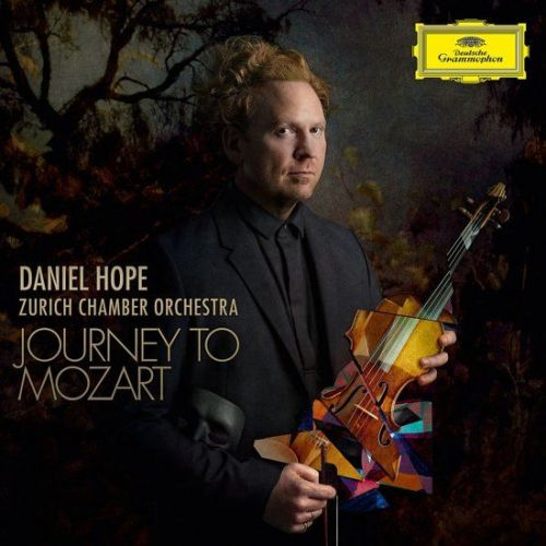 Hoes van de cd Journey to Mozart met Daniel Hope