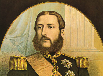 Leopold II, rond 1866