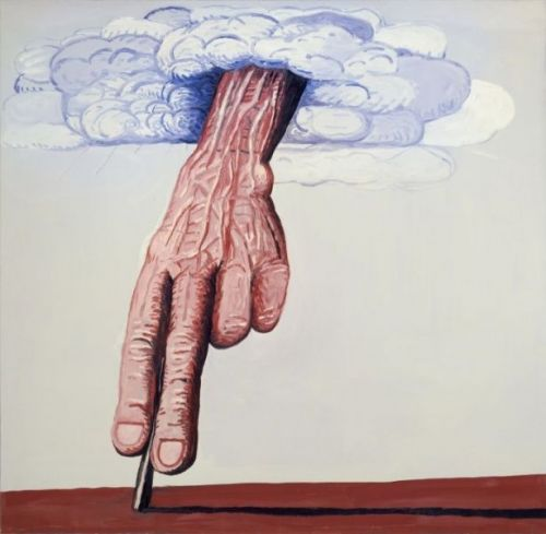 Philip Guston, The Line, 1978, (c) the Estate of Philip Huston, courtesy Hauser & Wirth