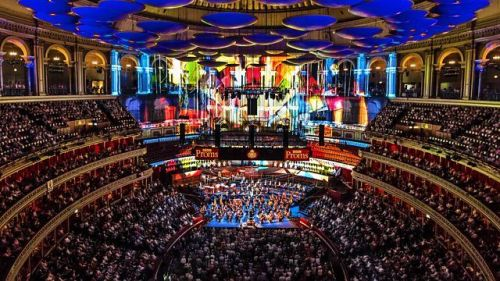 foto van Royal Albert Hall binnen